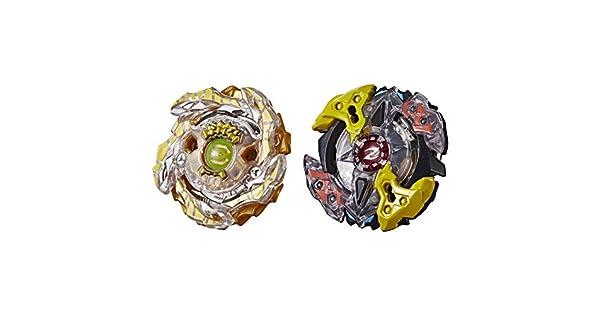 Amazon.com: Beyblade Burst Turbo Slingshock - dúo de zeutron ...