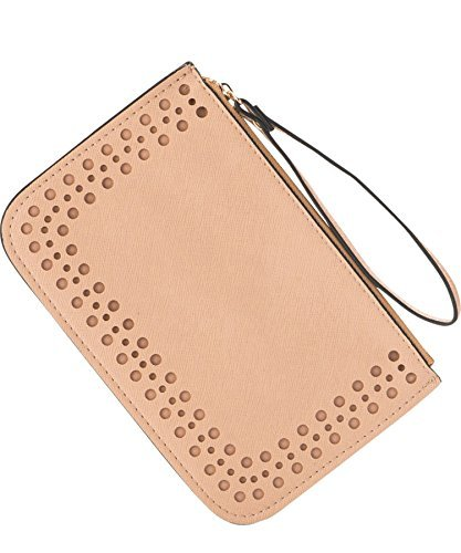 7. Small Pouch Zipper Wallet PU Leather Coin Purse