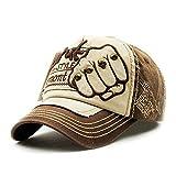 My Sky Unisex Trucker Hat Hip-Hop Flat Bill Baseball Caps Adjustable Snapback Hats Coffee