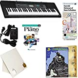 Homeschool Music - Learn to Play the Piano Pack (Train Songs Book Bundle) - Includes Casio CTK 2550 Keyboard w/Adapter, learn 2 Play DVD/Book, Books & All-Inclusive Learning Essentials