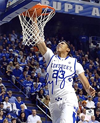 Anthony Davis Kentucky Wildcats Signed Autographed 8 x 10 Photo Print COA
