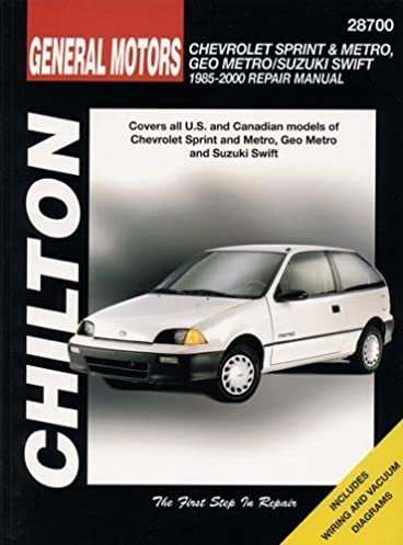 chevrolet metro sprint swift 1985 00 haynes repair manuals rh amazon com 1993 geo metro repair manual pdf 1993 geo metro repair manual pdf