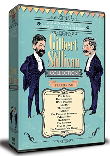 Gilbert and Sullivan Collection (12 Films) - 11-DVD Box Set ( Cox and Box / Trial by Jury / The Gondoliers / H.M.S. Pinafore / Iolanthe / The Mik [ NON-USA FORMAT, PAL, Reg.0 Import - United Kingdom ] by Engine 15 Media Group