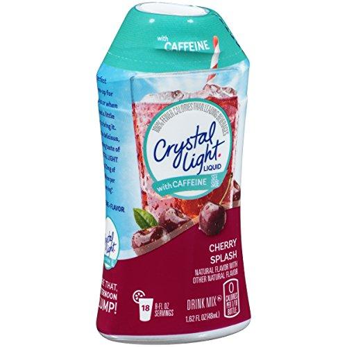 Crystal Light Liquid with Caffeine, Cherry Splash, 1.62 ()