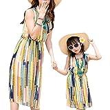 Mother-daughter Summer Beach Dress Set Family Matching Dress Set