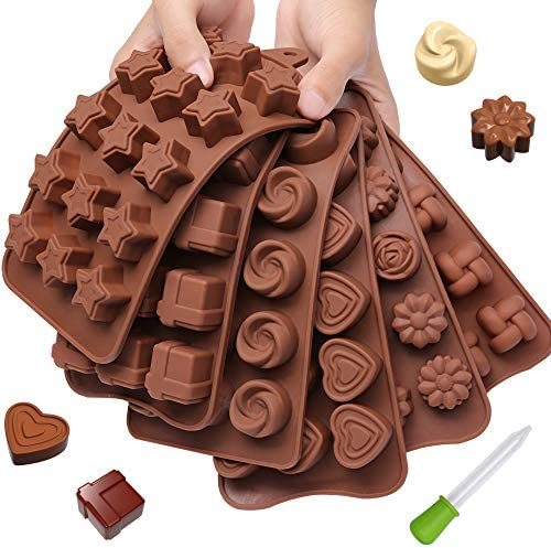Chocolate Candy Silicone Trays Recipes product image