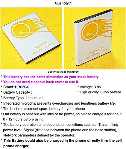 High Capacity 3400mAh Replacement Extended Slim Battery for Samsung Galaxy Grand Prime SM-S920L G530H Android phone
