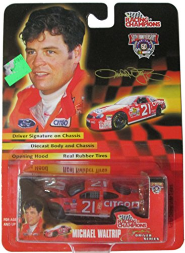 Michael Waltrip Racing Driver - Racing Champions Nascar Signature Driver Series - #21 Citgo Car - Michael Waltrip