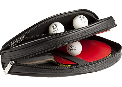Killerspin 623-01 SVR Barracuda Paddle Case with Ball Storage, Silver and Black by Killerspin (Image #3)