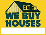we buy houses - We Buy Houses - Yard Sign - Customize with Your Details