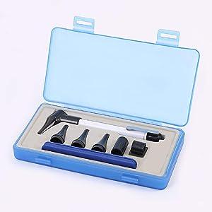 Slimline Stainless LED Pocket Otoscope Good True View Full Spectrum LED and Pocket Clip