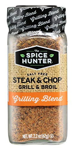 Elk Grill Steak - The Spice Hunter Steak & Chop Grill & Broil Blend, 2.2-Ounce Jar