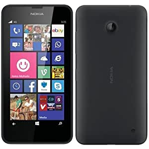 Unlocked Microsoft Nokia Lumia 635 RM-975, Black