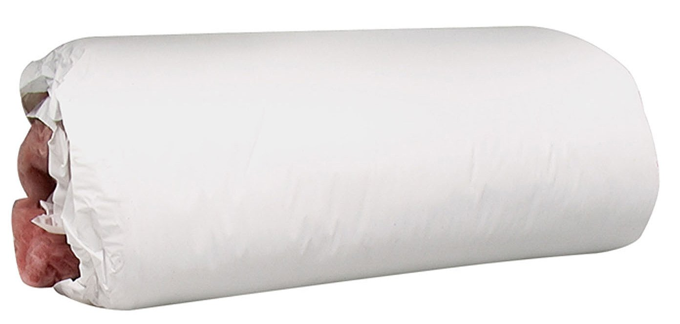 """M-D Building Products 4663 M-D 0 Water Heater Blanket, 2 in T, R-6.7 Insulating Value, Fiberglass, 48"""" x 75"""", WHITE FACED"""