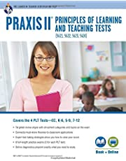 PRAXIS® PLT EC, K-6, 5-9 and 7-12: Book + Online