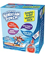 Hawaiian Punch Singles To Go, 8-Count (Pack of 12)