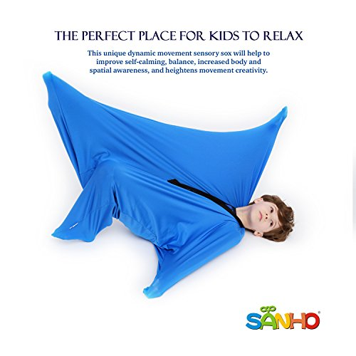 SANHO Yopo Dynamic Movement Sensory Sox, Medium,6-9 Years Old, 47''LX27''W Blue - http://coolthings.us