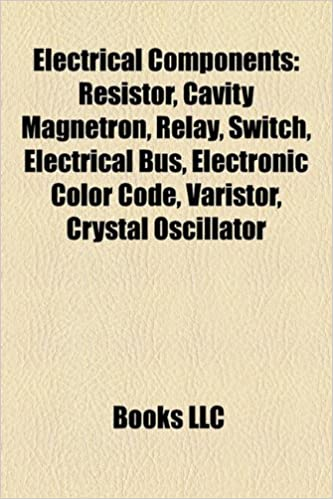 Electrical components: Resistor, Cavity magnetron, Switch, Waveguide, Electronic color code, Varistor, Crystal oscillator: Amazon.es: Source: Wikipedia: ...