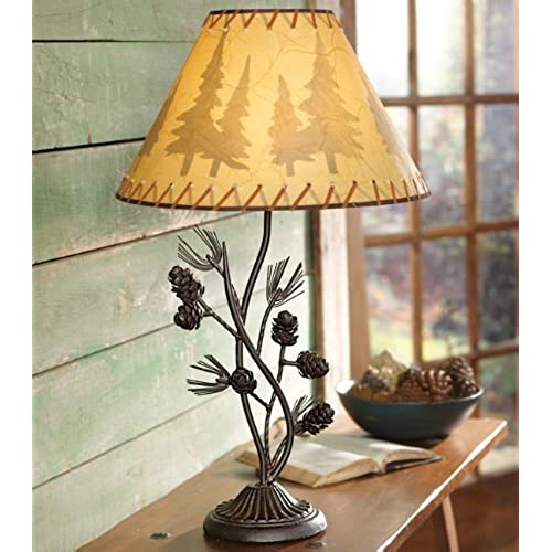 forest on a jim tags lamp light