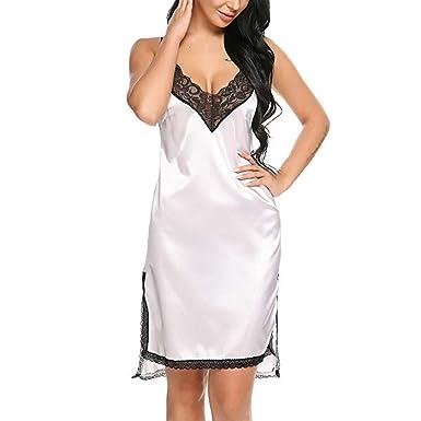 Dasuy Women Lace Sexy Lingerie Babydoll Ladies Sling Nightwear Dress Plus  Size Sleepwear (S 76477c557