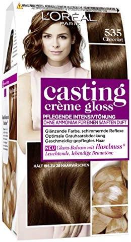 LOréal Paris casting Creme Gloss A32815 cuidado del color del pelo, 535 Chocolat