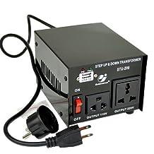 Goldsource® STU-200 Step Up/Down Voltage Transformer Converter - AC 110/220 V - 200 Watt