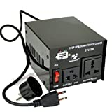 Speakers - Goldsource STU-200 Step Up/Down Voltage Transformer Converter - AC 110/220 V - 200 Watt