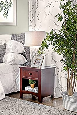 Enitial Lab Max 1-Drawer Nightstand