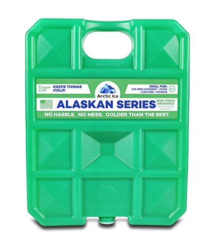 Arctic Ice Alaskan Series Reusable Cooler Pack, 1.5-Pound
