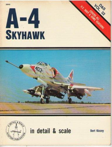 (A-4 Skyhawk in detail & scale - D&S Vol. 32)