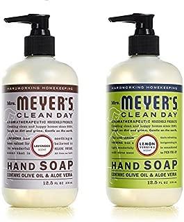product image for Mrs. Meyers Liquid Hand Soap Lavender & Lemon Verbena, 12.5 oz. each