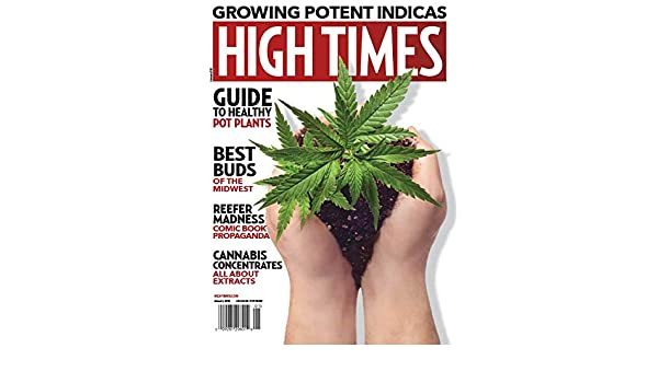 High Times Magazine (January, 2019) Growing Potent Indicas