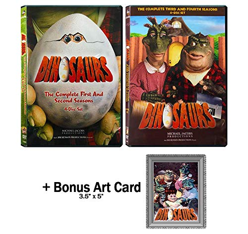 Dinosaurs: Complete TV Series Seasons 1-4 DVD Collection with Bonus