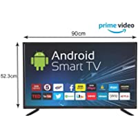 eAirtec 101 cm (40 inches) HD Ready Smart LED TV 40 SMART (Black)