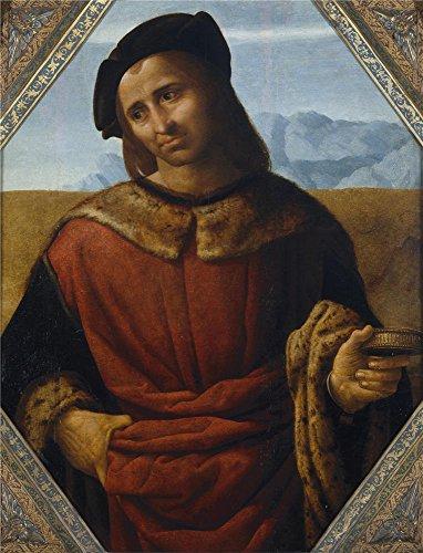 Oil Painting 'Yanez De La Almedina Fernando Saint Damian Ca. 1510', 10 x 13 inch / 25 x 33 cm , on High Definition HD canvas prints is for Gifts - Orange $25 Texas Optical