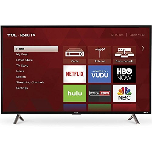 : TCL 40S305 40-Inch 1080p Roku Smart LED TV (2017 Model)