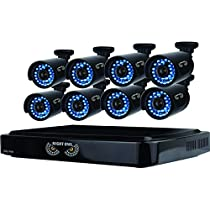 Night Owl 8 Channel Smart HD Video Security System with 1 TB HDD and 8 x 720p HD Cameras B-A720-81-8