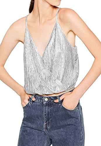novias-choice-women-sparkle-spaghetti-strap-crop-top-vest-top-tank-topsilverl