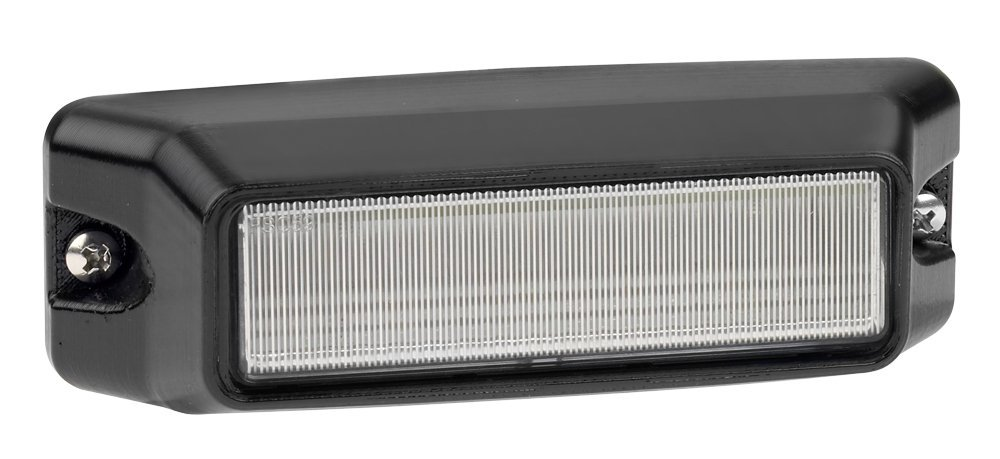 Federal Signal IPX620B-RW IMPAXX Dual Color LED Exterior/Perimeter Light, Red and White LEDs, Clear Lens by Federal Signal (Image #1)
