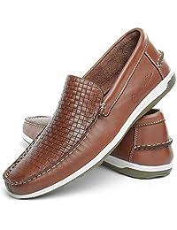 Sapato mocassim Masculino Mr Light Couro Confort Trice Italia