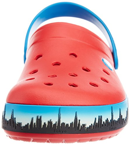 Adulte Rouge Tokyo Clog Crocs Mixte Red Crocband Sabots Skyline Yqc7WPZ