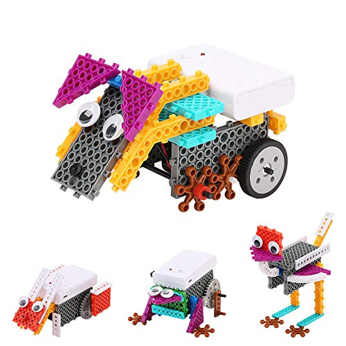 Building Animals Toys, Building Blocks Girl Gift Boy Gift STEM Robot Kit Building Gift Electric Toys Pig - Animals Family