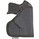 ComfortTac The Protector Premium Pocket Holster for Concealed Carry Fits Most Subcompact 380 Pistols Including Glock 42, Ruger LCP, S&W Bodyguard, Sig Sauer P238, Taurus 738, and Many More