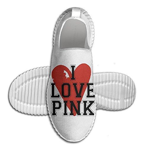 Pin I Love Roze Heren Sportschoenen Alle Afdrukken Foto Sportschoenen