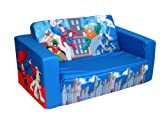 Warner Brothers DC Super Friends Mini Heroes Kids Flip Sofa