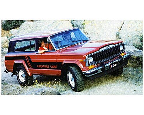 Jeep Cherokee Chief >> Amazon Com 1983 Jeep Cherokee Chief Factory Photo