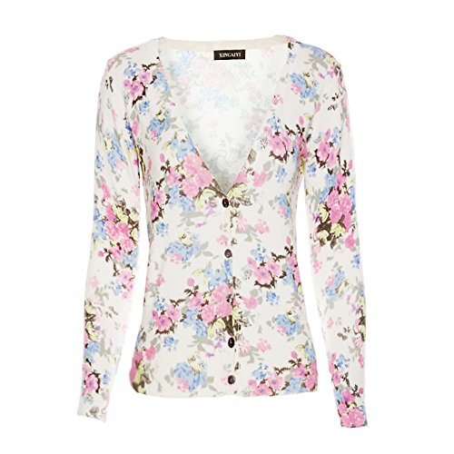Floral Cardigan Sweaters Amazon Com