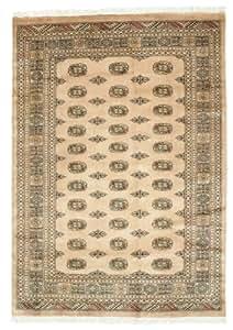 Alfombra pakistan bukara 3ply 172x243 alfombra oriental for Alfombras comedor amazon