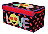Emoji Pals Love Collapsible Storage Trunk