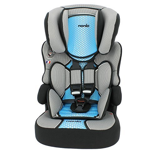 MyCarSit High Back Booster Car Seat for Kids, 9 to 36 kg, Blue TEAM TEX -- Dropship 589608